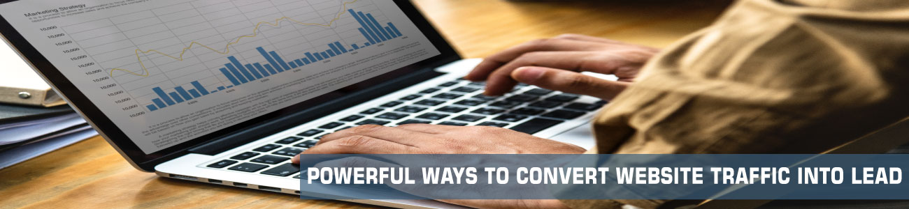 powerful ways to convert website traffic to lead